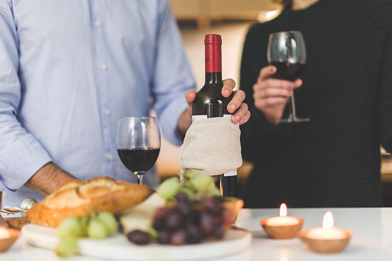 Červené víno k masu