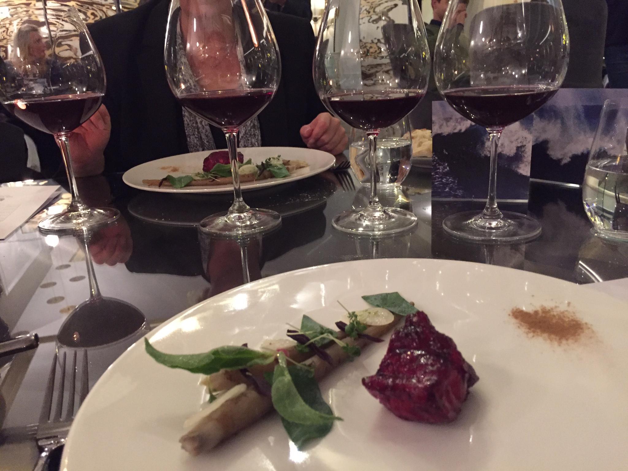 Rychlost ochutnávky vína z Londýna