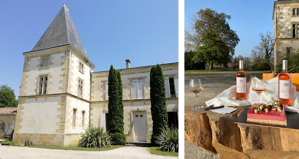 Zámek Château ESCOT